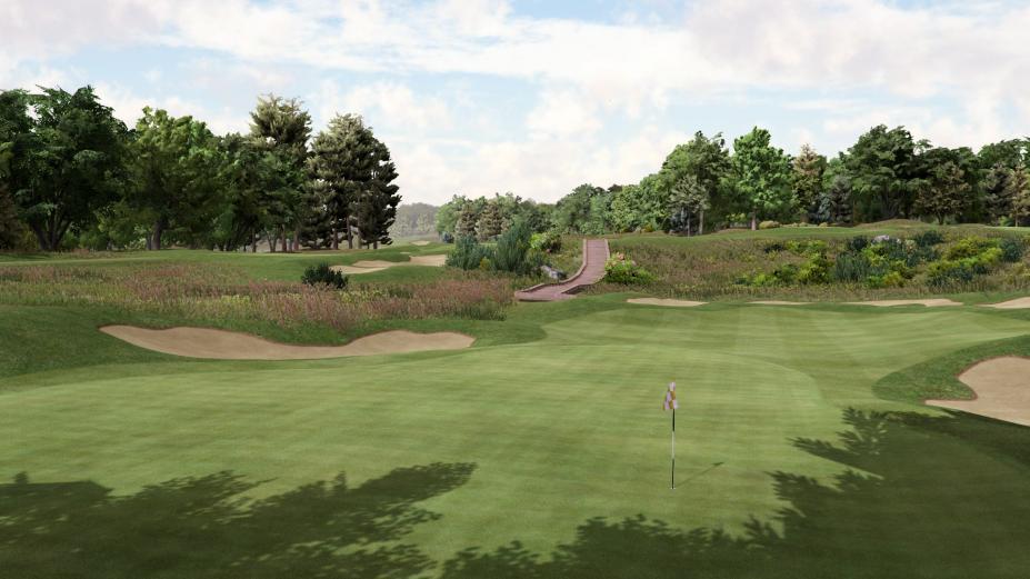 《杰克尼可拉斯完美高尔夫》游戏截图