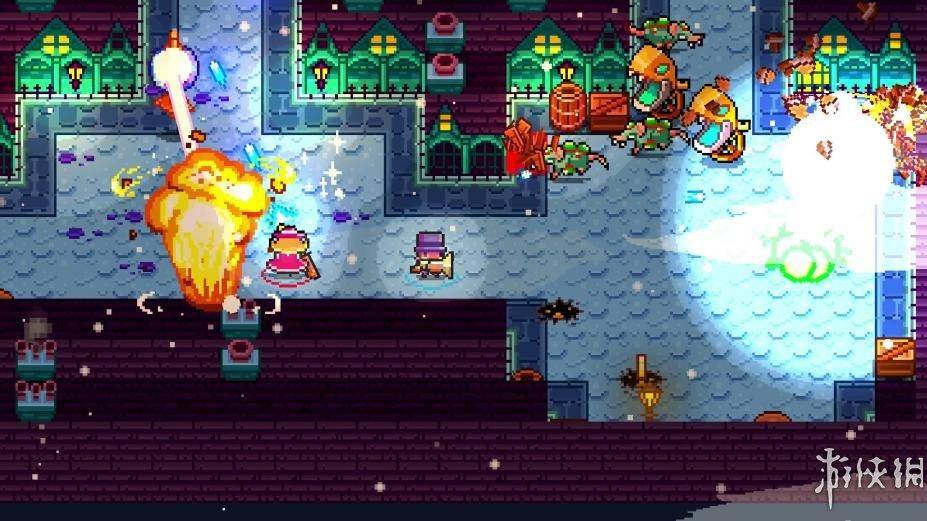 《怪物和单片眼镜》游戏截图