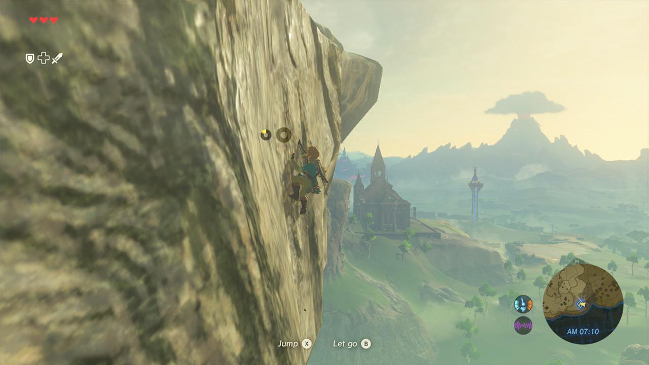 塞尔达传说:荒野之息游戏图片欣赏