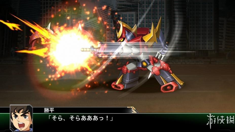 《超級機器人大戰V》游戲截圖