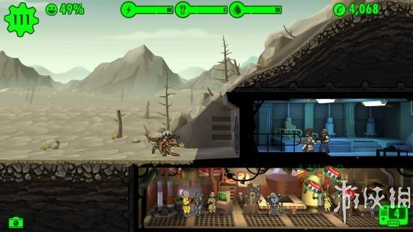 《辐射:避难所》游戏截图