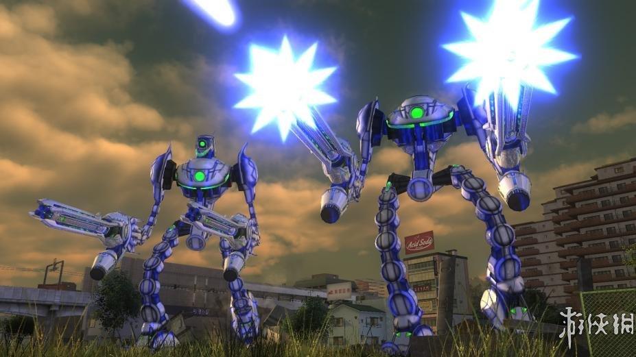 《地球防卫军4.1:绝望阴影再袭》游戏截图