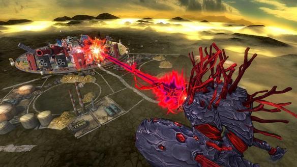 《绝对迎击战争》游戏截图-1
