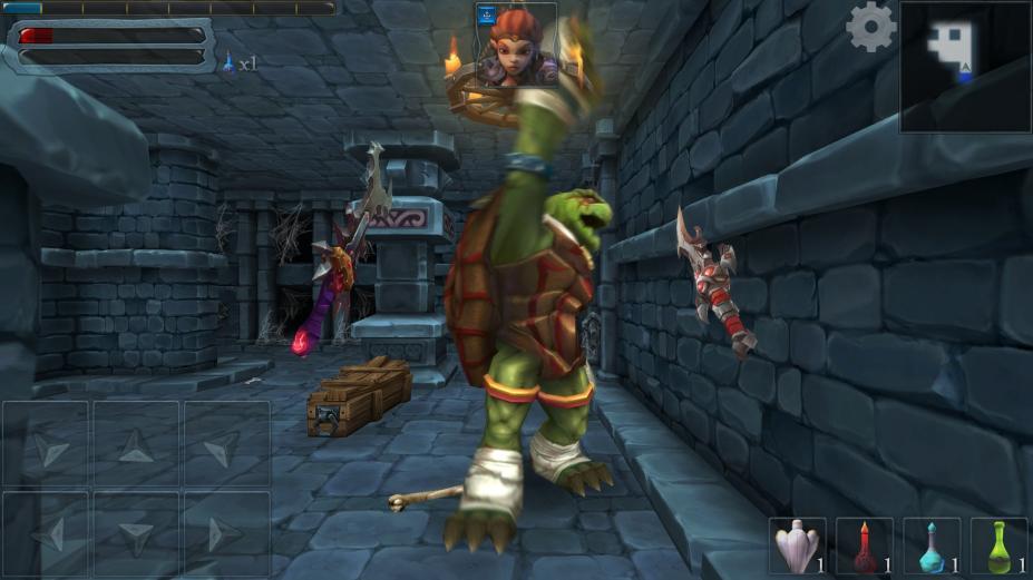 《地下城英雄》游戏截图