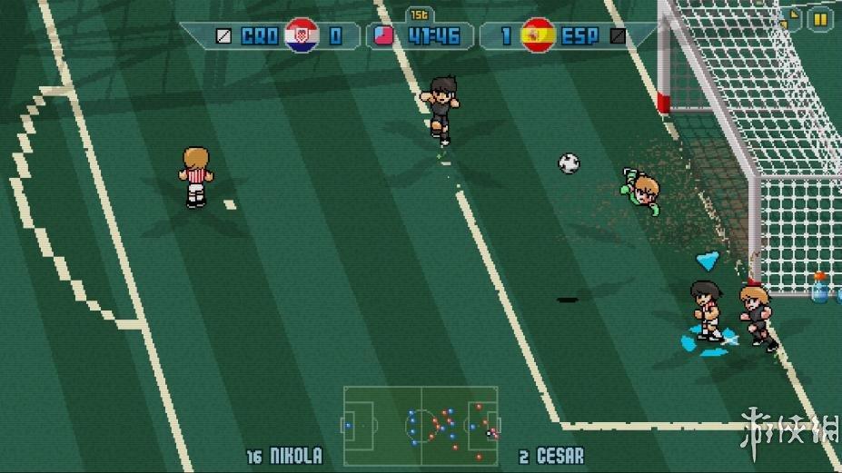 《像素足球杯17》游戏截图(1)