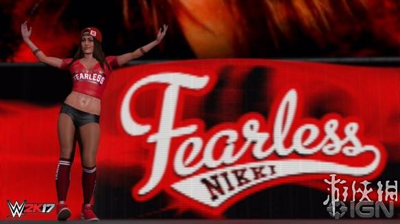 《WWE 2K17》游戏截图