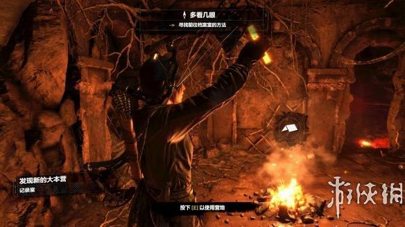 《古墓丽影:崛起》中文游戏截图