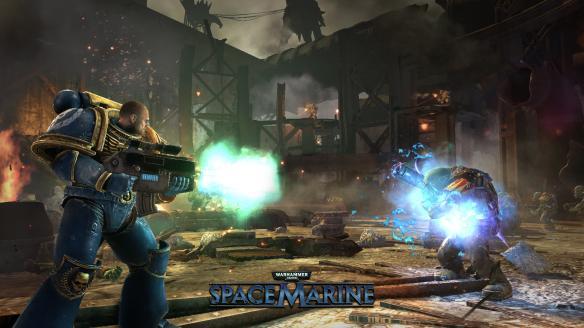 《战锤40K星际战士》游戏截图