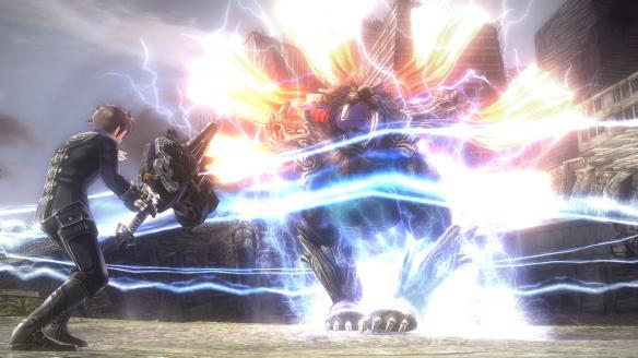 《噬神者2:狂怒爆裂》游戏截图