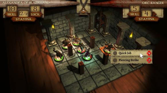 《火焰山的术士》游戏截图