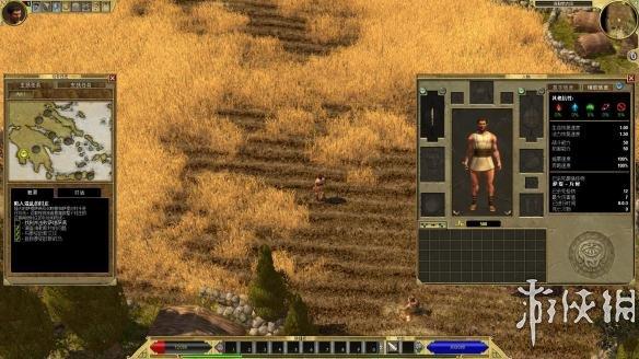《泰坦之旅:不朽王座》中文游戏截图