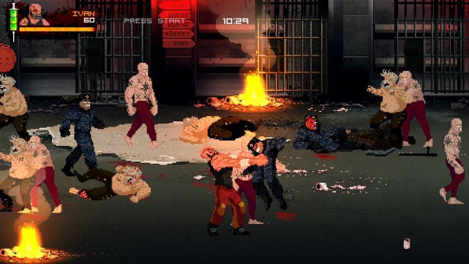 《俄国母亲洒热血》游戏截图