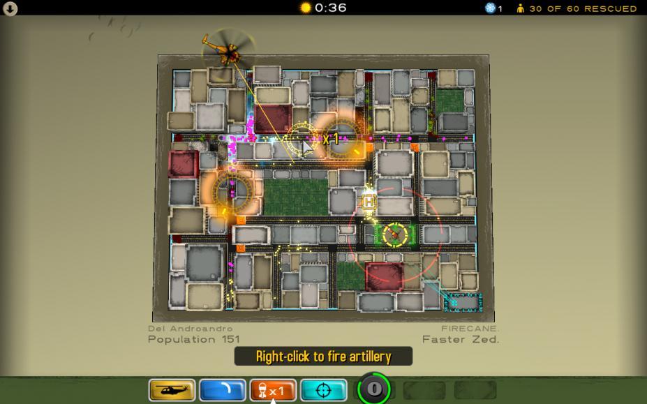 《原子僵尸粉碎机》游戏截图