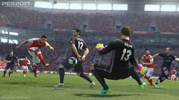《实况足球2017》游戏截图-2