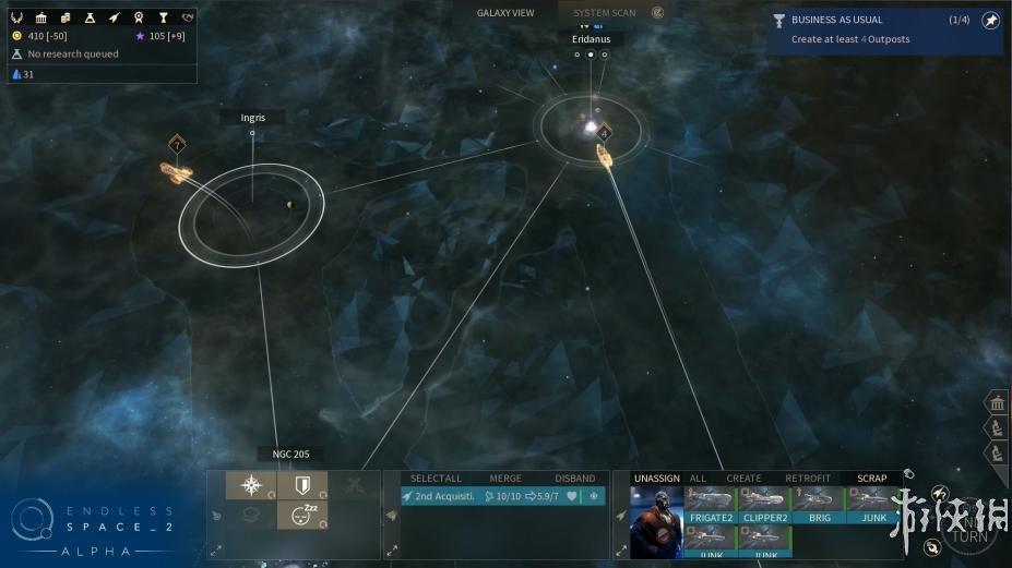 《无尽太空2》游戏截图-1