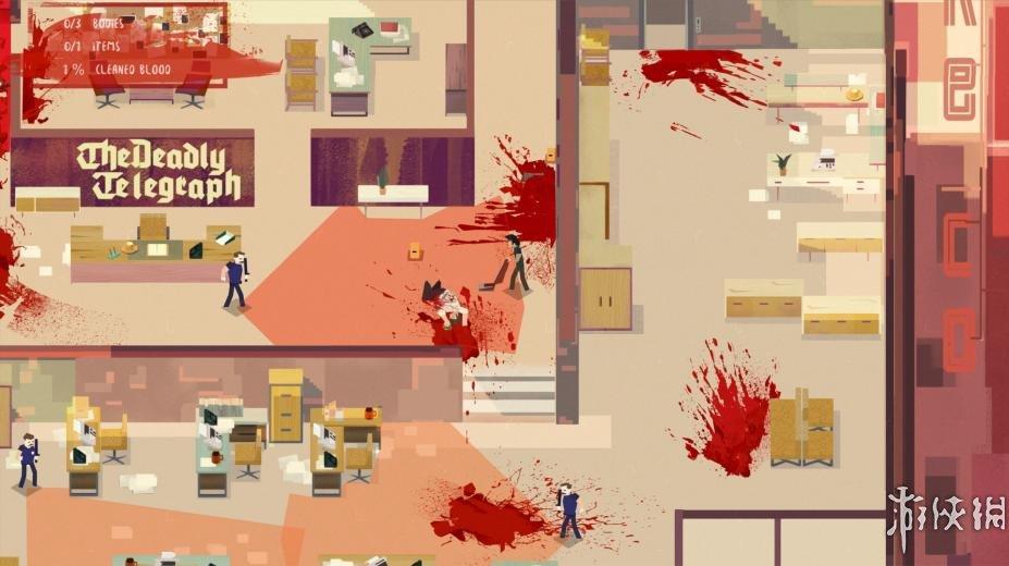 《连环清洁工》游戏截图