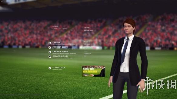 《足球经理2017》游戏截图