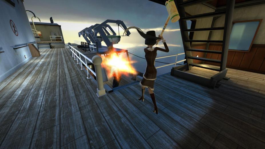 《凶船:重制版》游戏截图