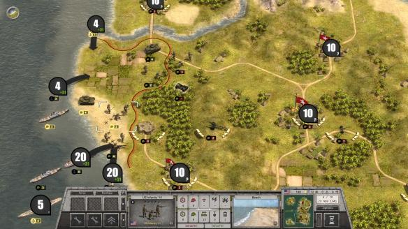 《战斗命令:二战》游戏截图
