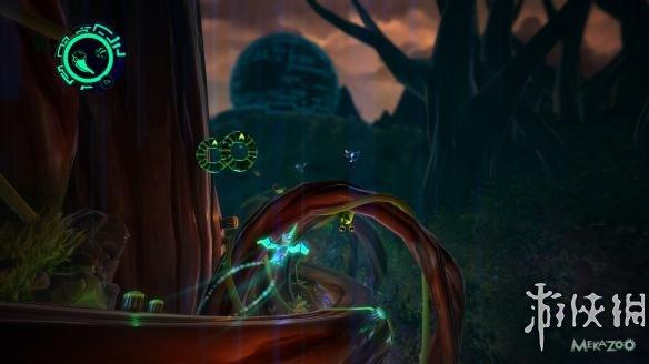 """《机械动物园(Mekazoo)》是由The Good Mood Creators制作发行的一款极具创意的动作游戏。在机械动物园的游戏世界中,玩家可以操作五种不同的""""机械动物"""",分别为犰狳、青蛙、熊猫、鹈鹕和袋鼠,在游戏过程中玩家可以在这些动物之间随意切换,每一种机械动物都有其独特的连技和独特的技能。"""