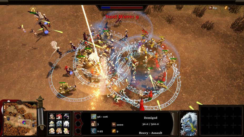 《影子英雄:火焰复仇》游戏截图