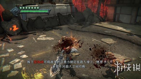 《暗黑血统:战神版》中文游戏截图