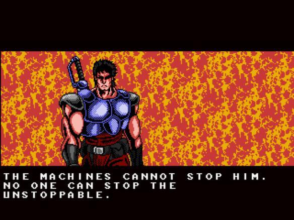 《赤影战士复刻版》游戏截图