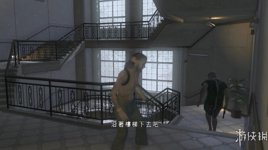 《合金裝備5:幻痛》中文游戲截圖