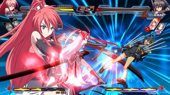 《Nitro+爆裂:女主角大乱斗》游戏截图