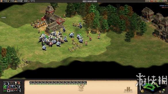 《帝国时代 II:高清版-阿尔杰斯的崛起》中文截图