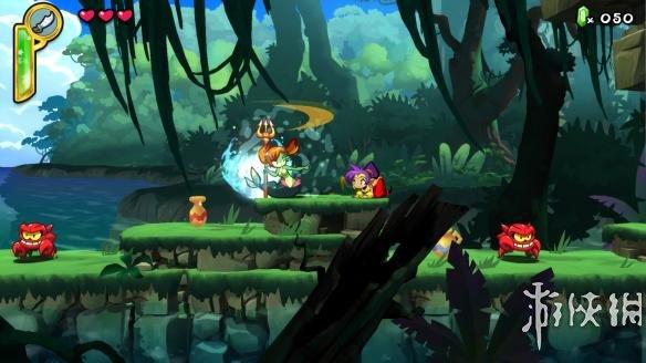 《桑塔:半精灵英雄》游戏截图-1