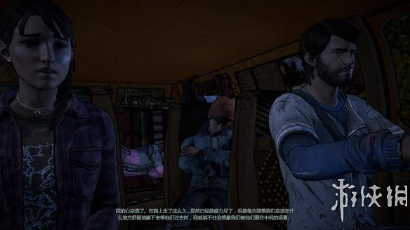 《行尸走肉:第三季》中文游戏截图