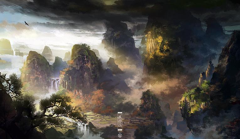 《灵山奇缘》精美图赏