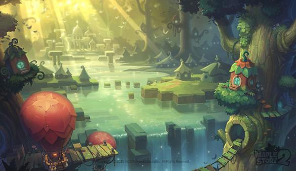 《冒险岛2》精美图赏