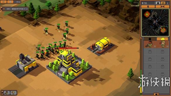 《8位军队》中文游戏截图