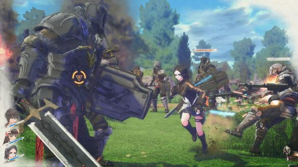 《苍蓝革命之女武神》游戏截图
