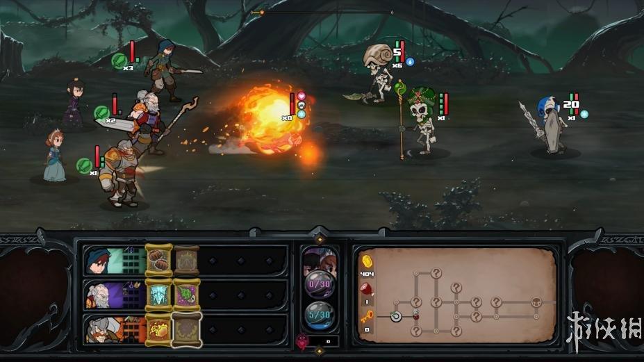 《过气英雄》游戏截图