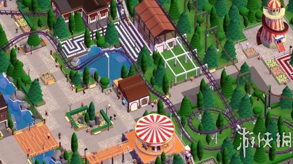 《游乐园建造师》繁体中文游戏截图
