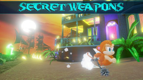 《猴子大陆3D:收割者冲击》游戏截图