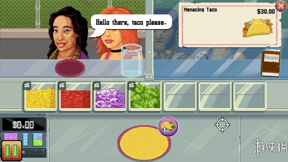《枪炮卷饼卡车》游戏截图