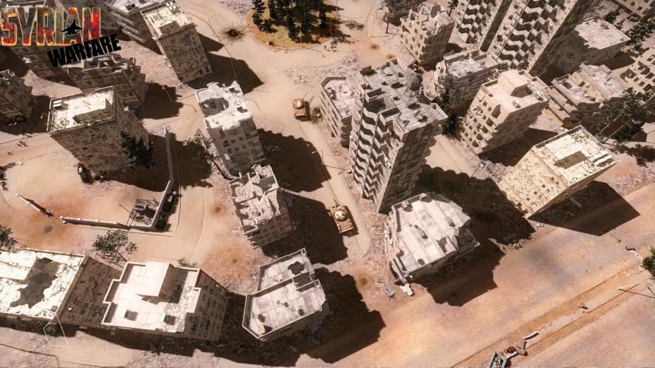 《叙利亚战争》游戏截图