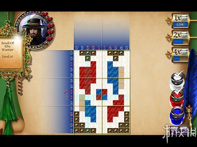《石之女王:马赛克魔法》游戏截图