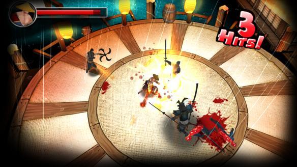 《复仇忍者龙之刃》游戏截图