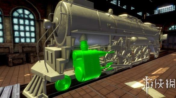 《火车修理工模拟2017》游戏截图