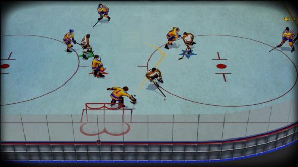 《老式冰球》游戏截图