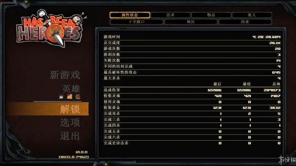 《过气英雄》中文截图