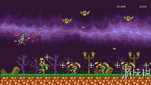 《8位猎天使魔女》游戏截图