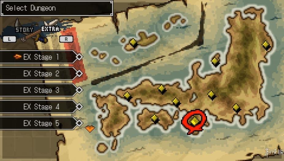 《经典迷宫回归:这是战国!》游戏截图