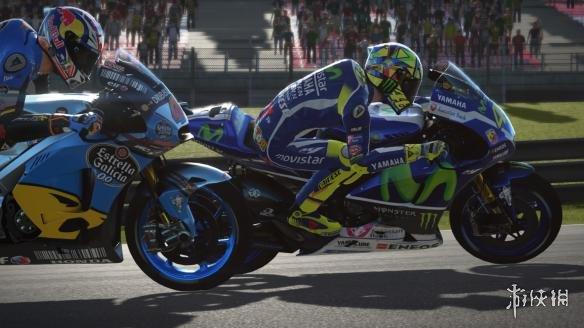 《世界摩托大奖赛17》游戏截图