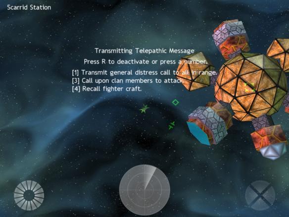 《平面太空》游戏截图